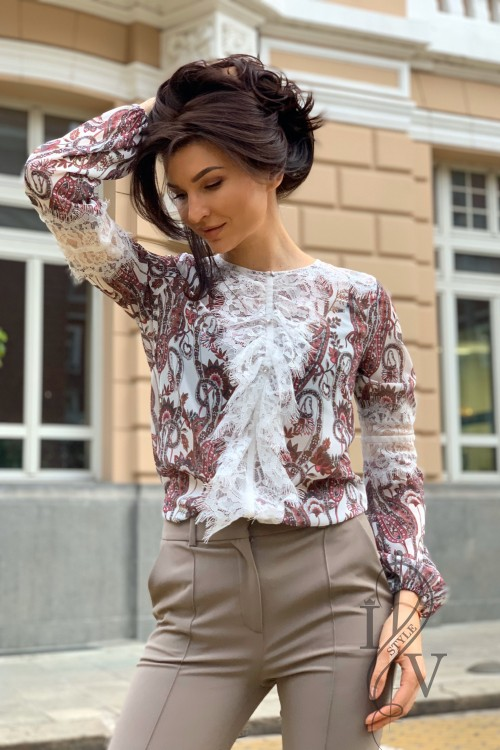"Exquisite blouse ""FILING"""