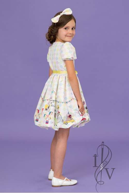 Children balloon dress