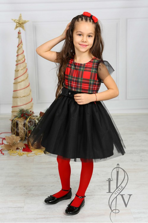 "Children's dress ""CHRISTMAS MAGIC"""