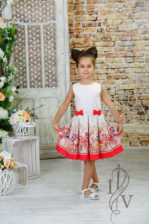 "Children's dress ""Colorful Dream"""