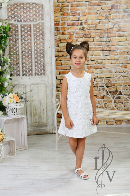 "Children's dress ""LACE MAGIC"""