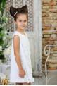 "Children's dress ""LACE MAGIC"""