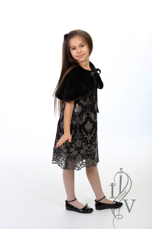 Luxury LITTLE DARK SHINE Kids Dress