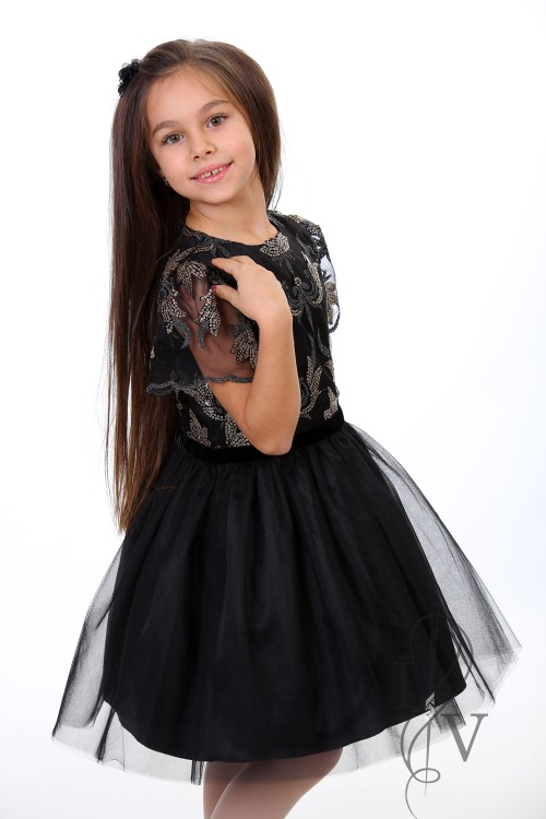 "Children dress ""DARK SHINE PRINCES"""