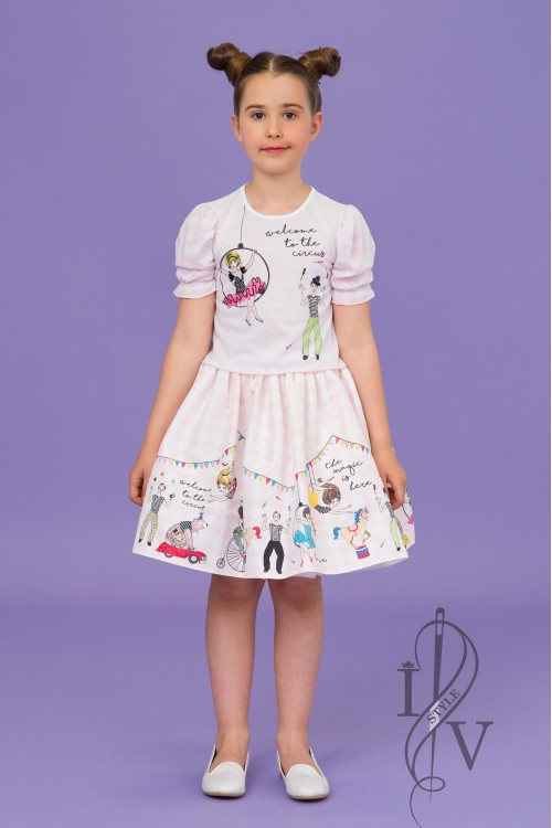 Children skirt CIRCUS