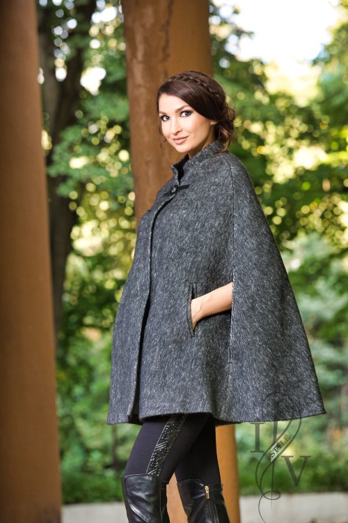 "Womens Poncho ""CAPE"""