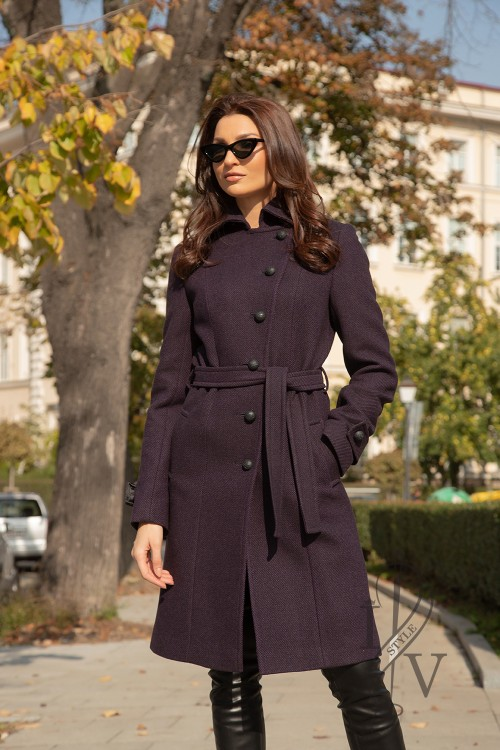 "Coat ""GOTHIC GRAPE"""
