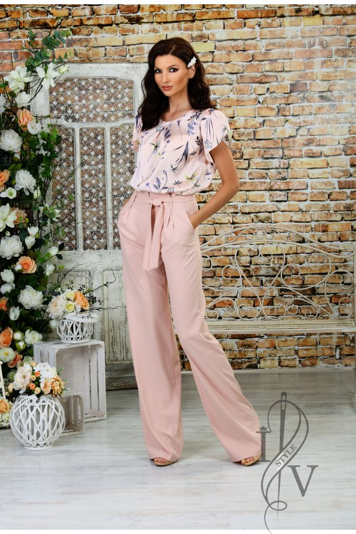 "Elegant straight trouser  ""SUMMER"""