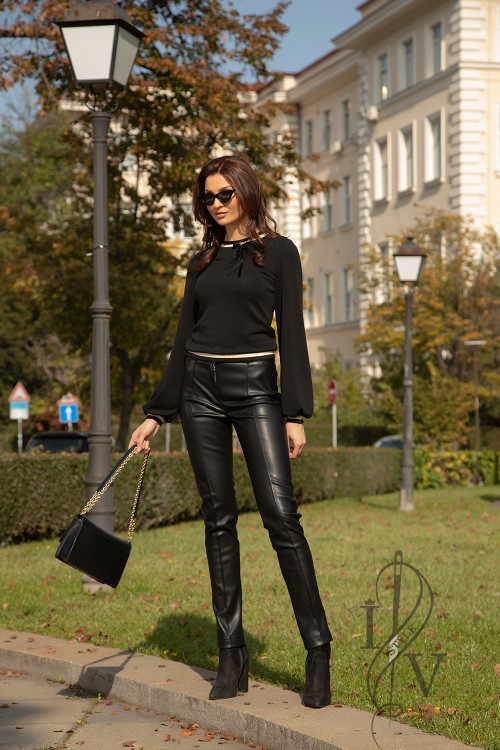 "Leather pants ""Black Leather"""