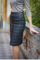 Elegant skirt quilt