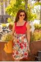 """Women's skirt """"SUMMER FLOWERS"""""""