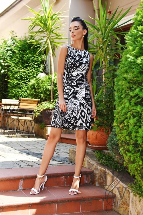 Light summer cotton dress