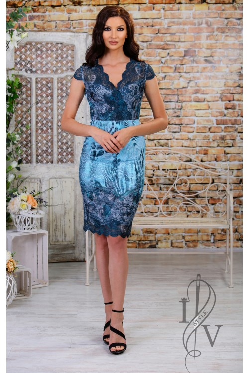 "Lace Dress ""Blue Dream"""