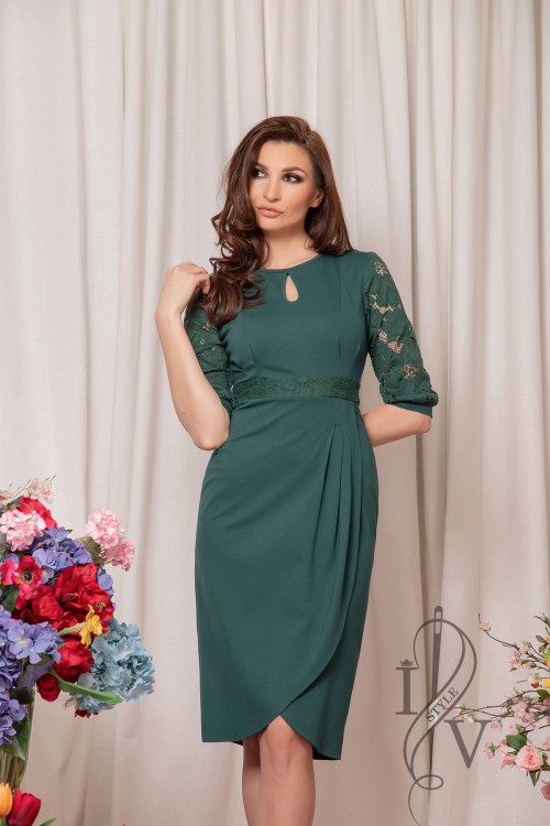 "Dress ""Green lace"""