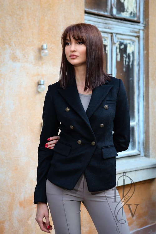 Stylish black jacket